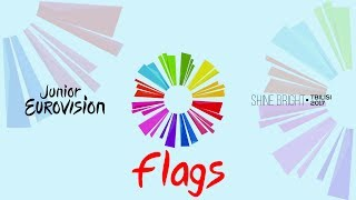 Junior Eurovision 2017 - New Flags - Download!!! UPDATE 15.07.2017