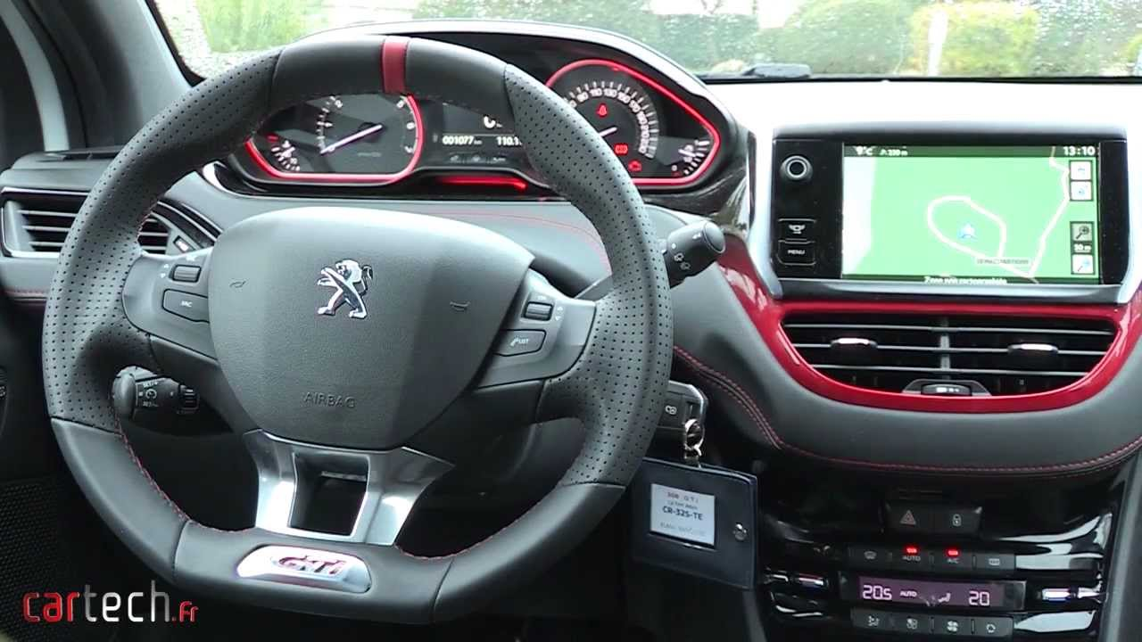 essai peugeot 208 gti youtube. Black Bedroom Furniture Sets. Home Design Ideas