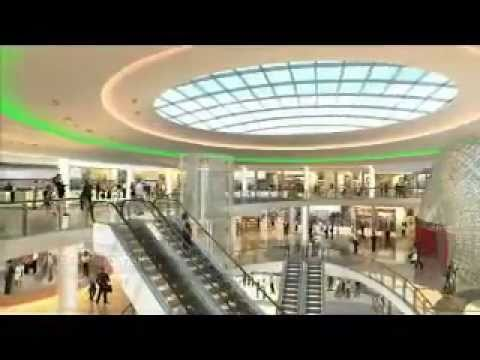 morocco mall centre commercial casablanca youtube. Black Bedroom Furniture Sets. Home Design Ideas