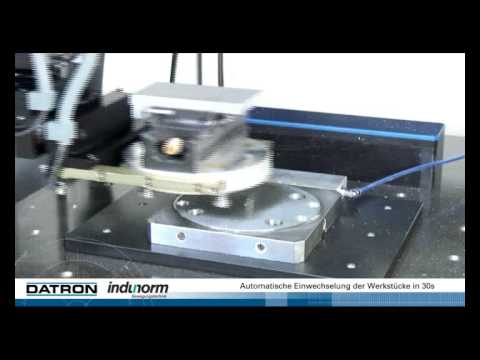 Indumatik Pallet Changer for DATRON CNC Machines
