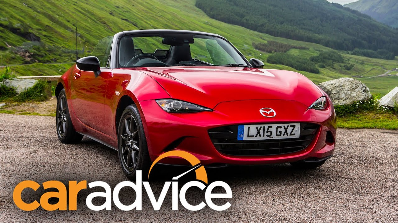 2016 Mazda MX-5 Review : Scotland First Drive - YouTube