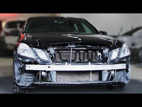 Детейлинг Detailing Mercedes под So Long!