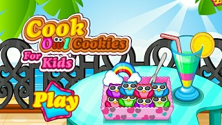 Fun Kids Game Cook Owl Cookies For Kids Gameplay