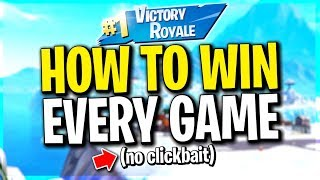 Easy Way to Win Every Game... Get tons of wins! (not clickbait)