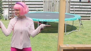 LazyTown - Viivi13 dancing to Bing Bang (English)