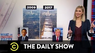 "What the Actual Fact? - The Trump Administration's ""Alternative Facts"": The Daily Show"