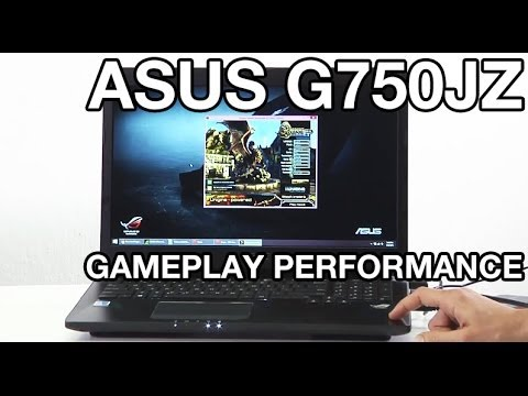 ASUS ROG G750JZ Gaming Notebook Performance Test