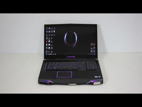 Видео обзор ноутбука Dell Alienware M18X
