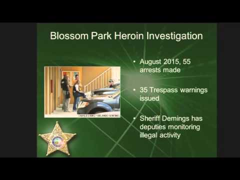 Sheriffs Community Crime Summit Heroin Epidemic