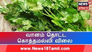 Madurai: வரலாறு காணாத அளவிற்கு உயர்ந்த கொத்தமல்லி விலை