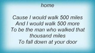 Watch Less Than Jake I Would Walk 500 Miles video