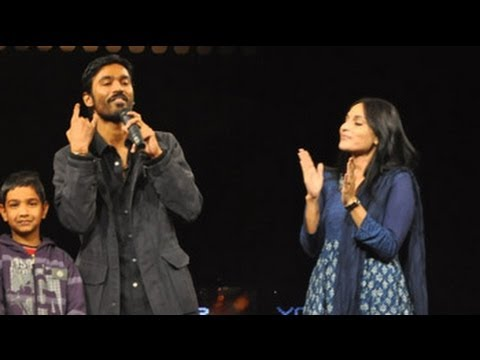 Kolaveri couple Dhanush, Aishwarya at NDTV