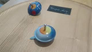 Toupie Spatiale Jeu en Métal Jouet Magnétique Toupie Shop