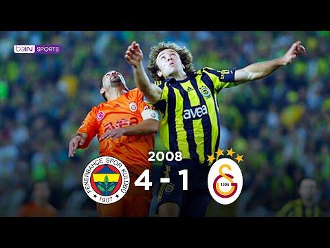 Fenerbahçe 4 - 1 Galatasaray Maç Özeti 9 Kasım 2008