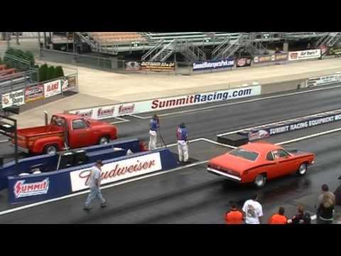 Worlds Fastest Lil Red Express Truck @ Norwalk Mopar World Finals