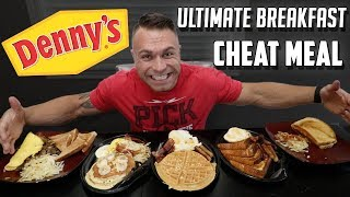 Denny's Ultimate Breakfast Cheat Meal | Epic Cheat Meal | Denny's | Johnny The Food Junkie