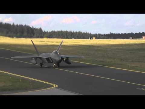 F-22s Deploy to Europe