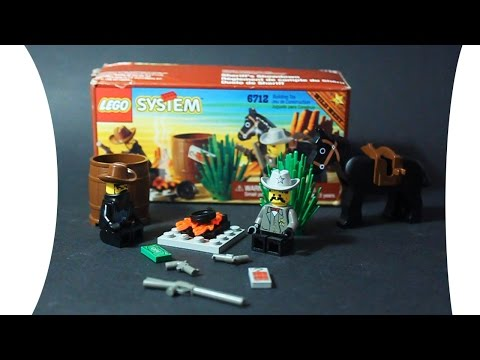 LEGO 6712 Sheriff's Showdown WESTERN COWBOYS Обзор лего