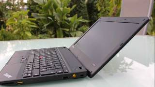 Detailed pictures of the  Lenovo Thinkpad X121e  in comparison with the  Lenovo Thinkpad SL510