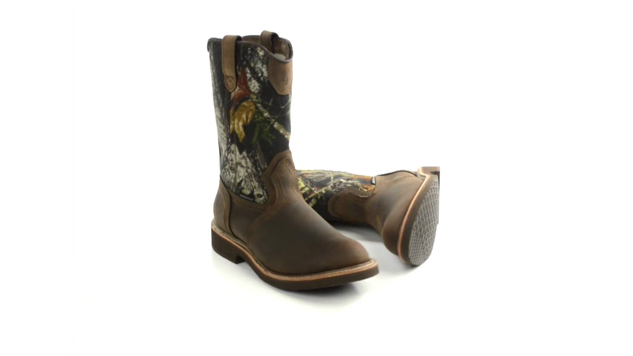 browning camo wellington boots waterproof for