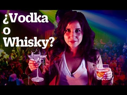 Para evitar la cruda ¿Vodka o Whisky?