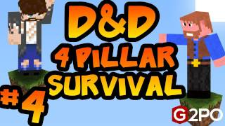 Dumb and Dumber on Minecraft - Unwelcome Guests: Part 4, 4 Pillars