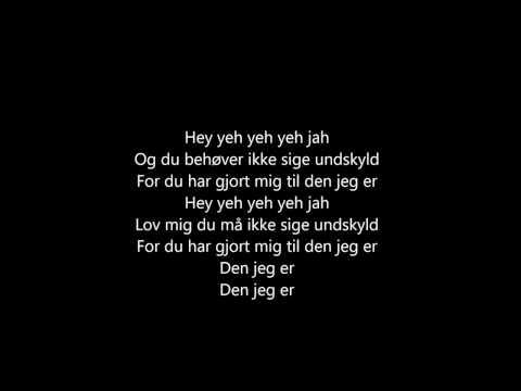 Rasmus Seebach - Den jeg er (Lyrics)