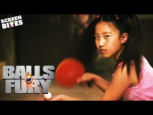 Balls Of Fury: Randy (Dan Fogler) faces The dragon (La Na Shi) in an epic table tennis match