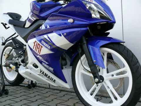 yamaha yzf r 125 serie tuning 2010 brainos youtube. Black Bedroom Furniture Sets. Home Design Ideas