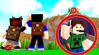 INVADIMOS A VILA DOS YOUTUBERS! Ft. Junior - Minecraft Infinito #01