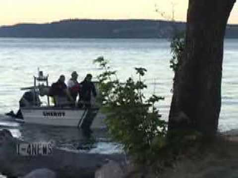 Diver Drowning - Sunnyside Beach Park - Steilacoom WA Video
