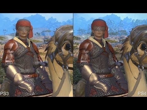 Final Fantasy 14 PS3 vs PS4 Comparison