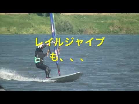 75歳 現役ウインドサーファー どん吹きを乗りこなす!