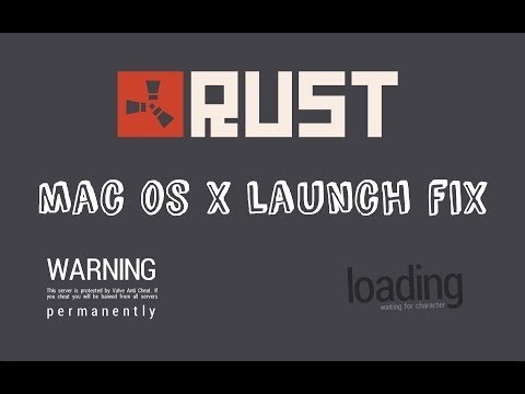 How To Fix - Rust | Mac OS X