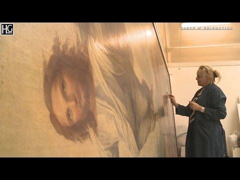 Renowacja obrazów z Katedry św. Olafa w Oslo - w trakcie produkcji