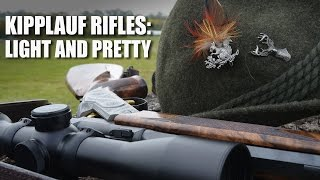 Kipplauf rifles: light and pretty