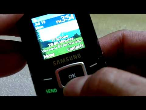 Tracfone Samsung T105g video review