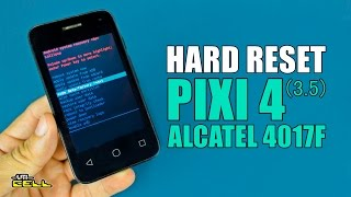 Hard Reset no Alcatel Pixi 4 (4017F) #UTICell