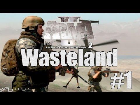 Arma 2 Wasteland - С конём по полю идём(1)