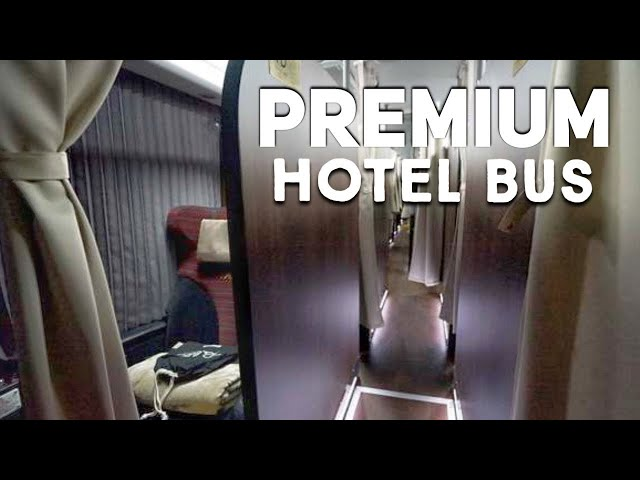 Riding the Overnight Bus Hotel in Japan thumbnail