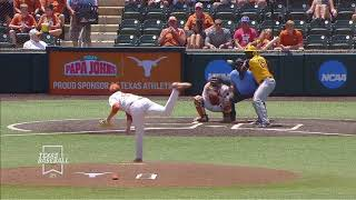Texas Baseball vs West Virginia Game 3 LHN Highlights [April 28, 2019]