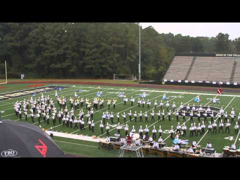 2013 Lassiter High School Marching Trojan Band: In the rain
