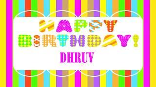 Dhruv   Wishes & Mensajes - Happy Birthday