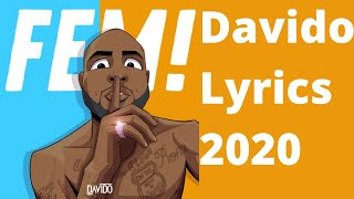 Davido - FEM (Lyrics)