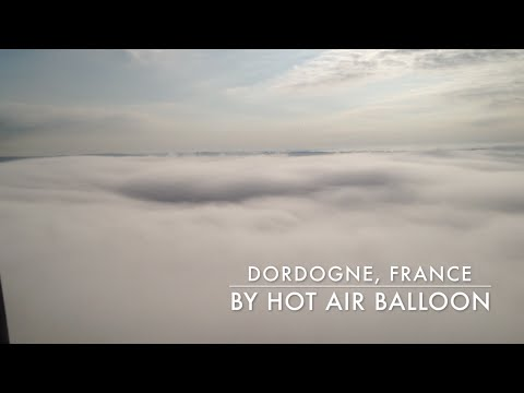 Hot Air Ballooning in Dordogne, France