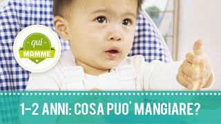 alimentazione 15 mesi bambini