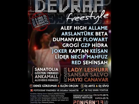 Hidra vs Allâme (#DevRap Freestyle Karşılaşması)