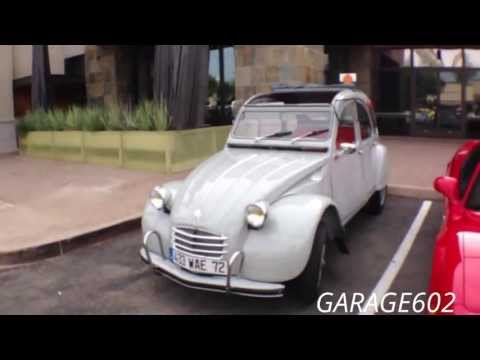 The French Citron 2CV RagTop at Cars and Coffee Scottsdale