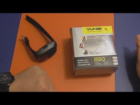 Супер китайская хрень - YUHAI B90  часы со встроенной Bluetooth колонкой и все это за 10$