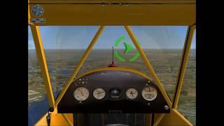Microsoft flight simulator X- Approaching the Airport